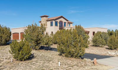 Tijeras, Cedar Crest, Sandia Park, Edgewood, Moriarty, Stanley Single Family Home For Sale: 46 Raindance Road
