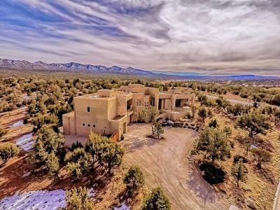 Tijeras, Cedar Crest, Sandia Park, Edgewood, Moriarty, Stanley Single Family Home For Sale: 2 Blue Corn Court