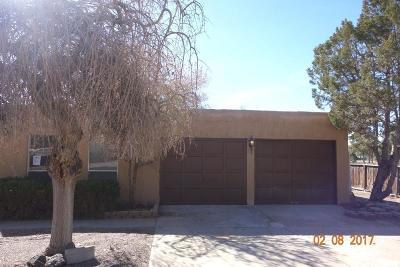 Albuquerque Single Family Home For Sale: 9900 Columbus Circle NW