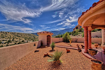 Placitas Single Family Home For Sale: 12 Vista De Oro Road