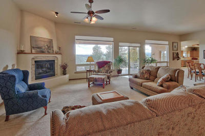 Tijeras, Cedar Crest, Sandia Park, Edgewood, Moriarty, Stanley Single Family Home For Sale: 39 Rancho Verde Road