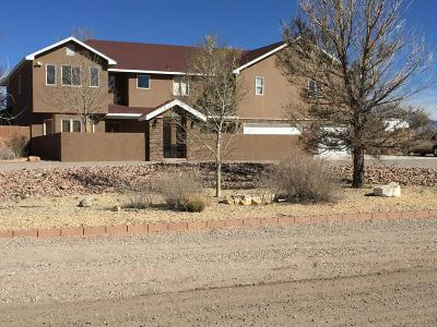 Rio Rancho Single Family Home For Sale: 2716 Lerma Road NE