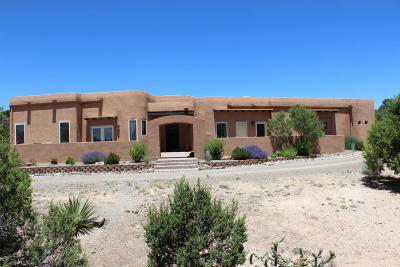 Tijeras, Cedar Crest, Sandia Park, Edgewood, Moriarty, Stanley Single Family Home For Sale: 6 Mud Head
