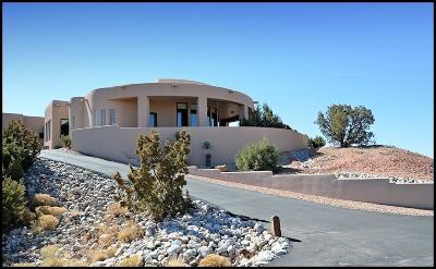 Placitas Single Family Home For Sale: 6 Petroglyph Place