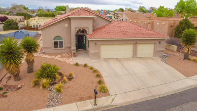 Valencia County Single Family Home For Sale: 1601 Brown Drive