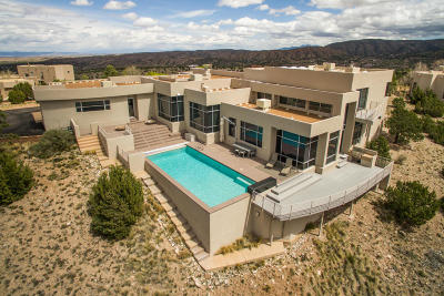 Placitas Single Family Home For Sale: 75 Overlook Drive