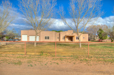 Valencia County Single Family Home For Sale: 18 Tammie Lee Lane