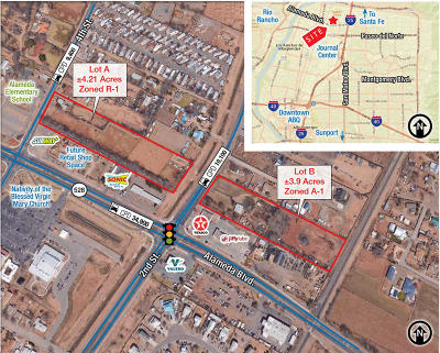 Albuquerque Residential Lots & Land For Sale: 2nd Street NW