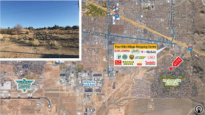 Albuquerque Residential Lots & Land For Sale: Four Hills Rd. & Hidden Valley Drive SE