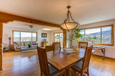 Placitas Single Family Home For Sale: 46 Tejon Canon Road