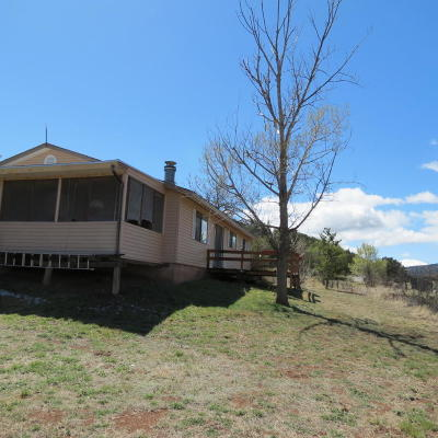 Tijeras, Cedar Crest, Sandia Park, Edgewood, Moriarty, Stanley Single Family Home For Sale: 2 Lakeview Court