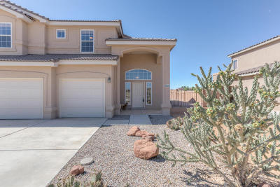 Rio Rancho Single Family Home For Sale: 6600 Kalgan Road NE