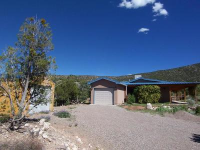 Placitas Single Family Home For Sale: 6 Camino Del Ojito