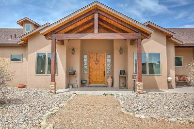 Tijeras, Cedar Crest, Sandia Park, Edgewood, Moriarty, Stanley Single Family Home For Sale: 109 Elite Drive