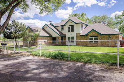 Valencia County Single Family Home For Sale: 345 El Cerro Loop