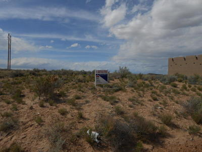 Bernalillo Residential Lots & Land For Sale: Eucalyptus (Blk 49, L 7, U 17) Road NE