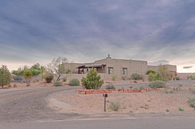 Rio Rancho Single Family Home For Sale: 601 Acebo Road NE