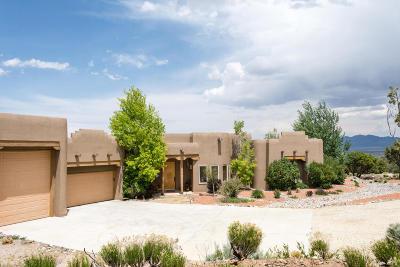 Tijeras, Cedar Crest, Sandia Park, Edgewood, Moriarty, Stanley Single Family Home For Sale: 7 Vista De Santa Fe