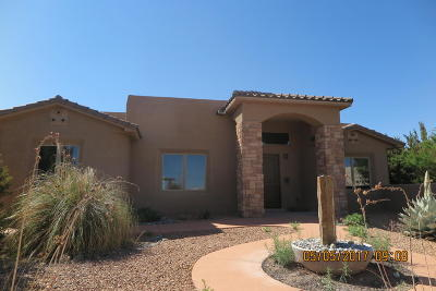 Placitas Single Family Home For Sale: 2 Frontier Lane