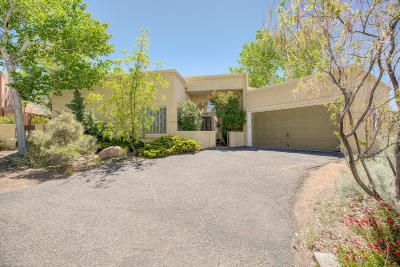 Sandia Heights Single Family Home For Sale: 2819 Tramway Circle NE
