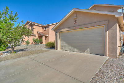 Albuquerque Single Family Home For Sale: 8309 Tangerine Place NW