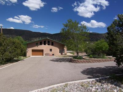 Placitas Single Family Home For Sale: 853 Highway 165