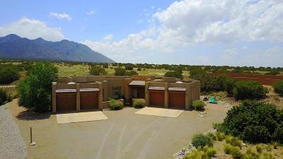 Placitas Single Family Home For Sale: 31 Apache Mesa Road