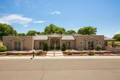 Valencia County Single Family Home For Sale: 106 Tres Cantos