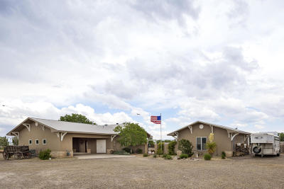 Valencia County Single Family Home For Sale: 1262 Sichler Road SW