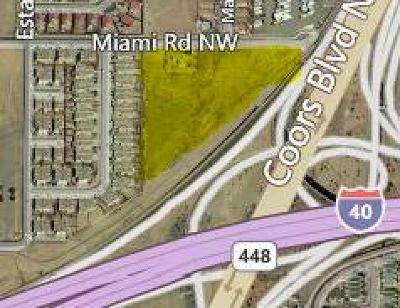 Albuquerque Residential Lots & Land For Sale: 5820 Miami Road NW
