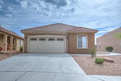 Bernalillo Single Family Home For Sale: 844 Cottonwood Circle