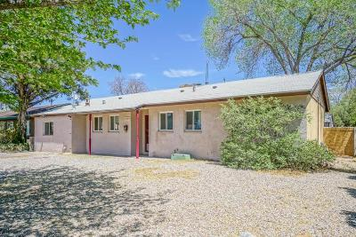 Albuquerque Single Family Home For Sale: 2704 Espanola Street NE
