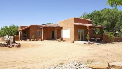 Corrales Single Family Home For Sale: 110 Coronado Road