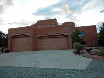 Tijeras, Cedar Crest, Sandia Park, Edgewood, Moriarty, Stanley Single Family Home For Sale: 113 Paa-Ko Drive
