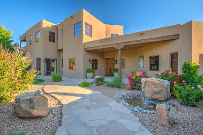Corrales Single Family Home For Sale: 4 Caliente Del Sol