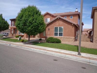 Bernalillo Single Family Home For Sale: 839 Bosque Vista Drive