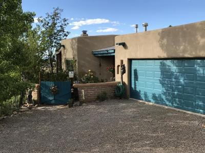 Placitas Single Family Home For Sale: 21 Cienega Canyon Road