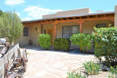 Placitas Single Family Home For Sale: 96 Vista Montana Loop