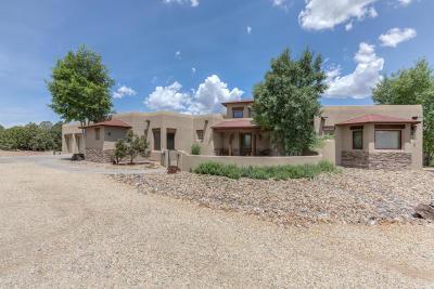 Tijeras, Cedar Crest, Sandia Park, Edgewood, Moriarty, Stanley Single Family Home For Sale: 29 Western Trail Drive