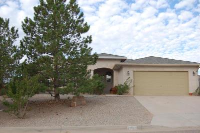 Rio Rancho Single Family Home For Sale: 7212 Donet Court NE