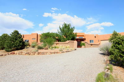 Placitas Single Family Home For Sale: 6 Ariel Court