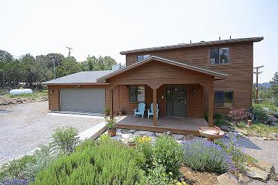 Tijeras, Cedar Crest, Sandia Park, Edgewood, Moriarty, Stanley Single Family Home For Sale: 3 Del Oso Lane
