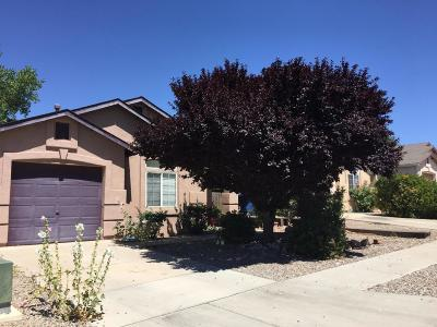 Albuquerque Single Family Home For Sale: 1523 Quiet Desert Drive SW
