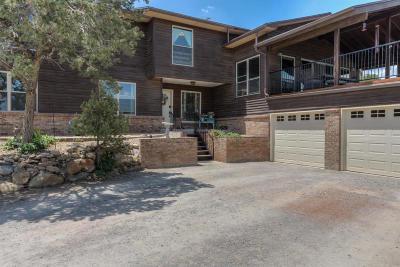 Tijeras, Cedar Crest, Sandia Park, Edgewood, Moriarty, Stanley Single Family Home For Sale: 43 Matterhorn Drive