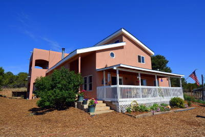 Tijeras, Cedar Crest, Sandia Park, Edgewood, Moriarty, Stanley Single Family Home For Sale: 47 Valley Road