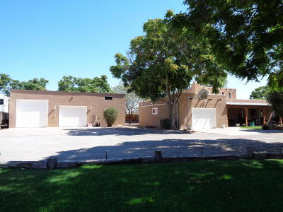 Valencia County Single Family Home For Sale: 5 B Don Abran Road