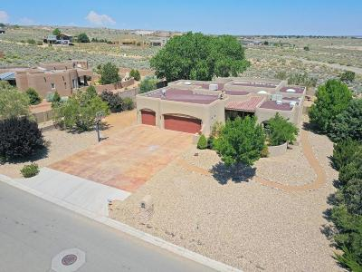 Rio Rancho Single Family Home For Sale: 2171 Gazelle Road NE