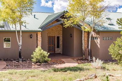 Tijeras, Cedar Crest, Sandia Park, Edgewood, Moriarty, Stanley Single Family Home For Sale: 32 Woodlands Drive