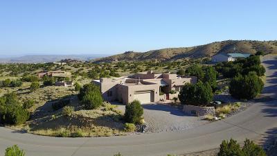 Placitas Single Family Home For Sale: 2 Pinon Ridge Drive
