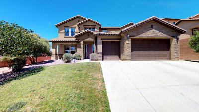 Rio Rancho Single Family Home For Sale: 113 Los Miradores Drive NE